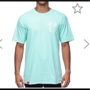 Other - Men's teal graphic t shirt